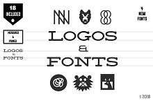 Old Style Logos & Fonts + Bonus by  in Display Fonts
