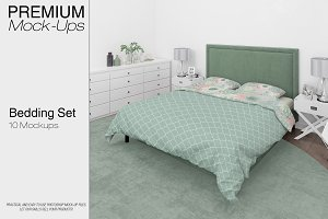 Bedding Set - Duvet Sheet Shams