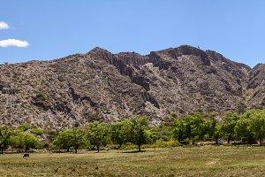 Landscape of mountain in Jujuy's pro