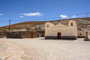 Church in San Antonio de Los Cobres