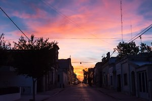 Sunset in San Antonio de Areco (Arge
