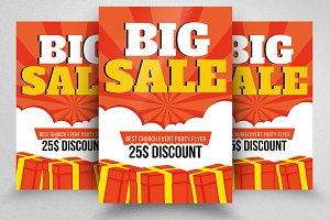 Big Sale Offer Flyer Templates