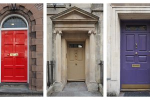 five british door