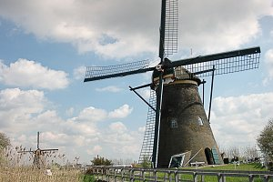 Windmill and brige