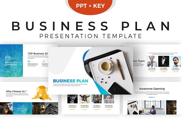 Business plan presentation template presentation templates business plan presentation template presentations wajeb Images