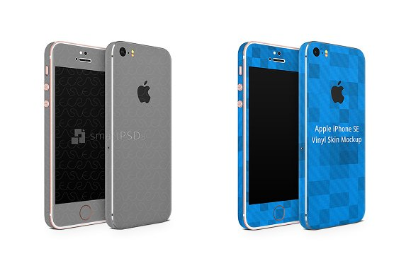 Apple IPhone 5s SE Vinyl Skin Design
