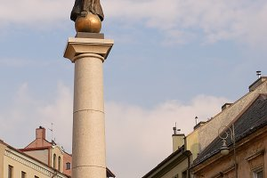 Angel of Uzupis in Vilnius