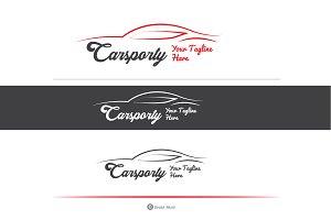 Car Sporty Automotive / Premium Logo