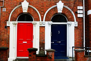 Colorured Doors