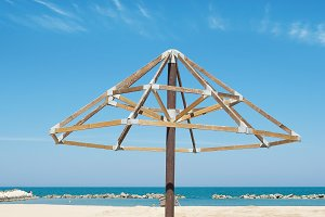 wooden structure for overdrafts that