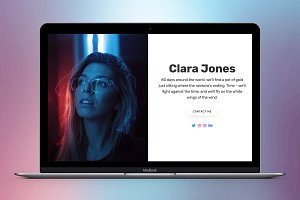 Cara - Personal WordPress Theme