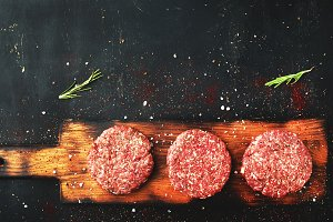 Burger steak cutlets