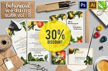 30%OFF Botanical Wedding Suite Vol.2