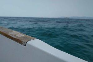 Boat close up.