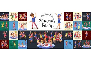 Students pool alcohol party