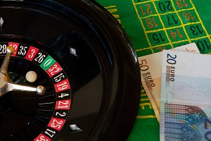 Roulette and money