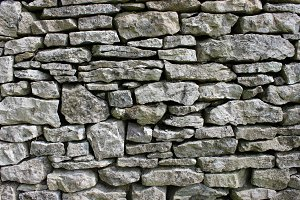 Blue Stone Wall Background