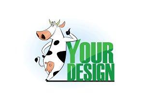 Cow logo