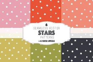 Stars patterns set 1