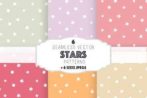 Stars patterns set 2