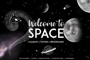 Welcome to Space clipart