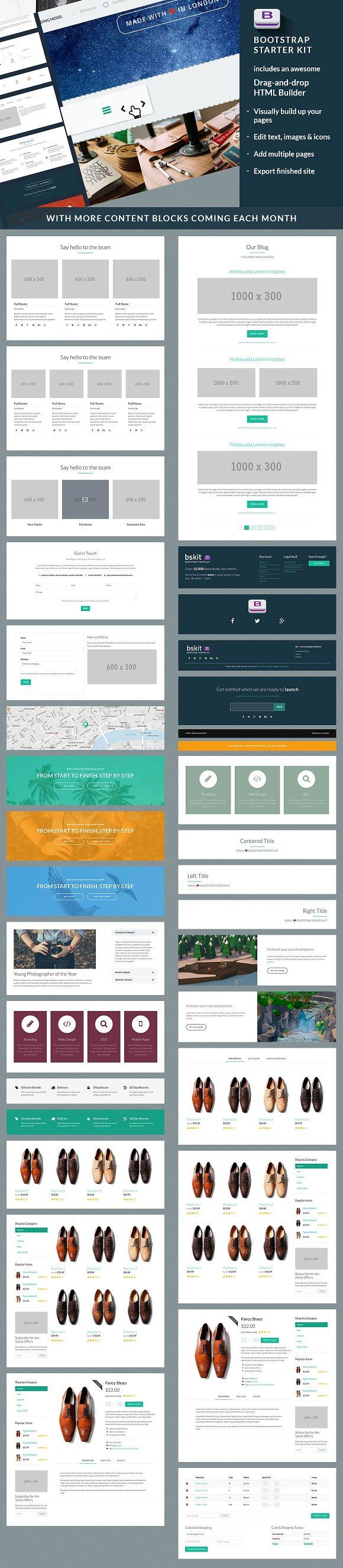 Bootstrap Starter Kit - Web Edition