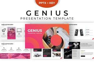 Genius Presentation Template