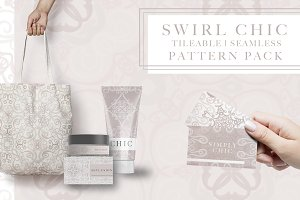 Swirl Chic Seamless Pattern Kit
