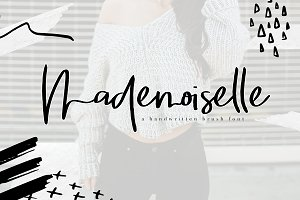 Mademoiselle - Chic Brush Font