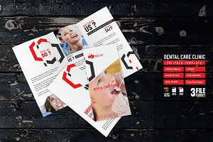 Dental Care Clinic Trifold