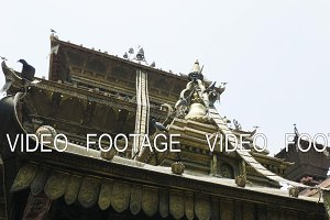 Golden temple in Patan, Buddhist