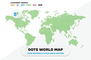 Dots World Map