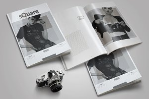 Multipurpose Clean Magazine Template