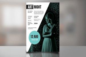 Fashion & ARt Flyer -V839