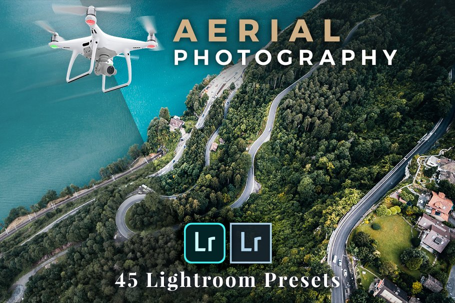 Lightroom Presets Aerial Photography ~ Lightroom Presets ~ Creative