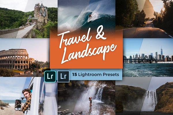 Lightroom Presets: PhotoMarket - Travel & Landscape Lightroom Presets
