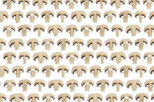 Mach champignon slices pattern.