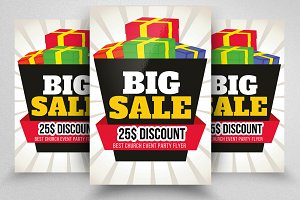 Sale Offer Discount Flyer Template