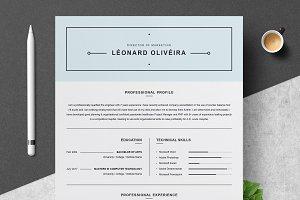 Clean Resume Template | Simple CV
