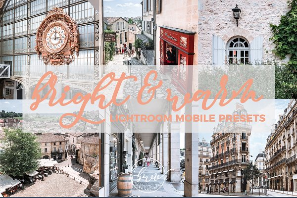 Bright Warm Lightroom Mobile Preset…