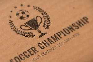 Soccer Championship Logo Template