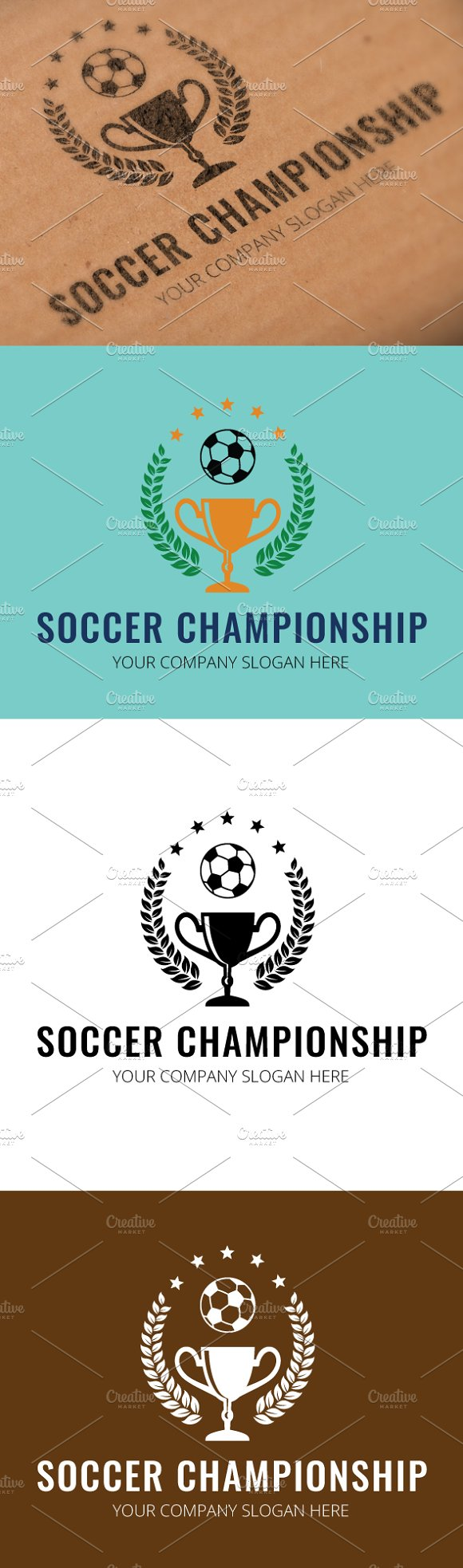 Soccer Championship Logo Template