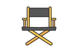 Director's chair color icon
