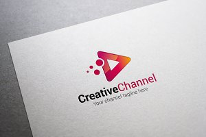 Creative Channel Logo