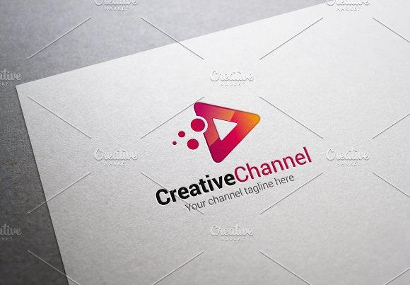 Creative Channel Logo
