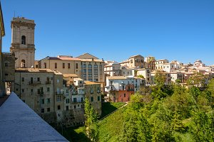 Panorama of the city of Lanciano in