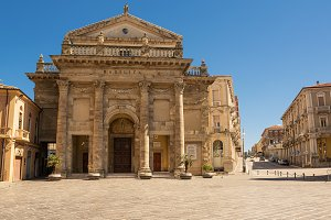 Cathedral of the city of Lanciano in