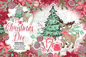 Christmas Doe design