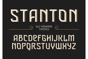 Stanton decorative vector vintage