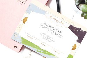 Gift Certificate Template / Aurora